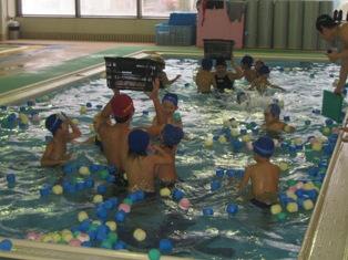 水中ゲーム大会 堅田