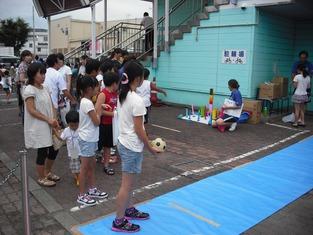 岩槻夏祭り ボウリング
