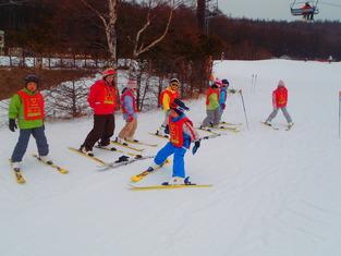 スキーレッスン②