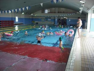 岩槻夏祭り プール