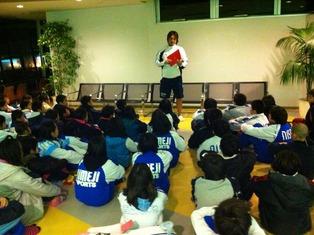 関西冬季小学生合宿