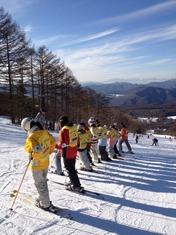 岩倉スキー 練習
