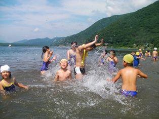 元住吉サマー 湖水浴