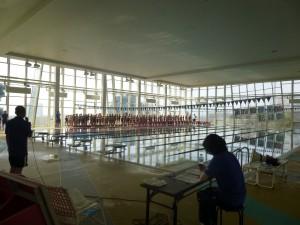 津名スイミング記録会1
