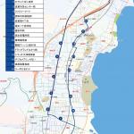 滋賀里ルートの地図です。