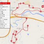 相互台・日本平方面ルートの地図です。