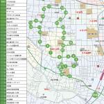 下小田中・杉山町方面ルートの地図です。